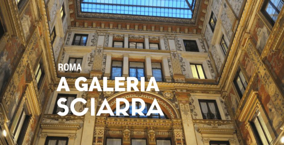 Galleria Sciarra em Roma