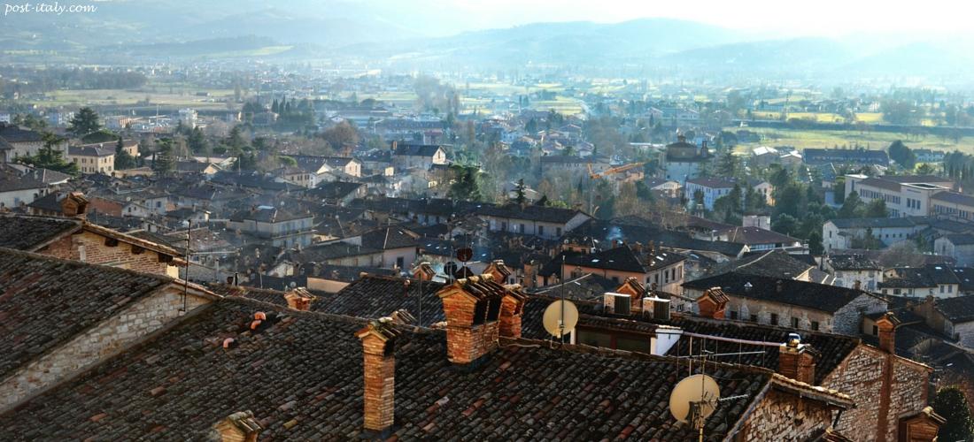 tetos de Gubbio