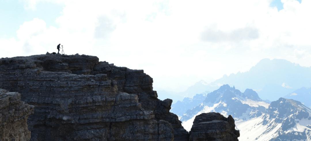 Alpes dolomíticos na Itália