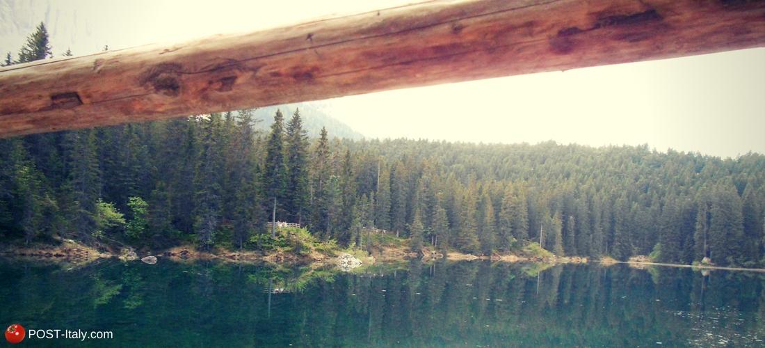 Lago di Carezza, Dolomitas, Italia