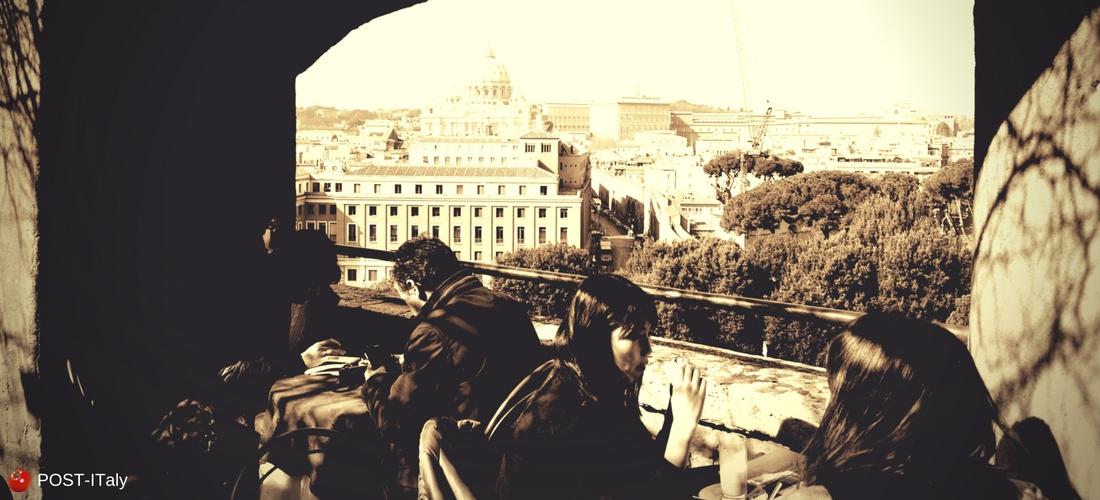 Castel Sant´Angelo em Roma, Itália