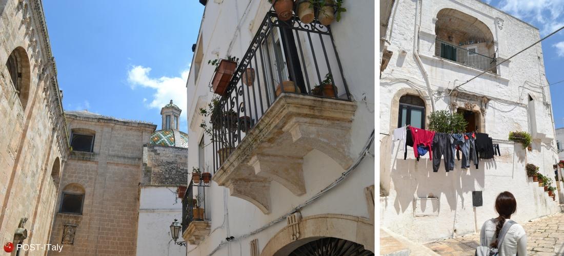Ostuni, cidade branca, Puglia