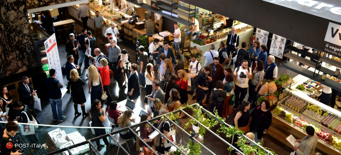 Mercato Centrale em Roma Termini
