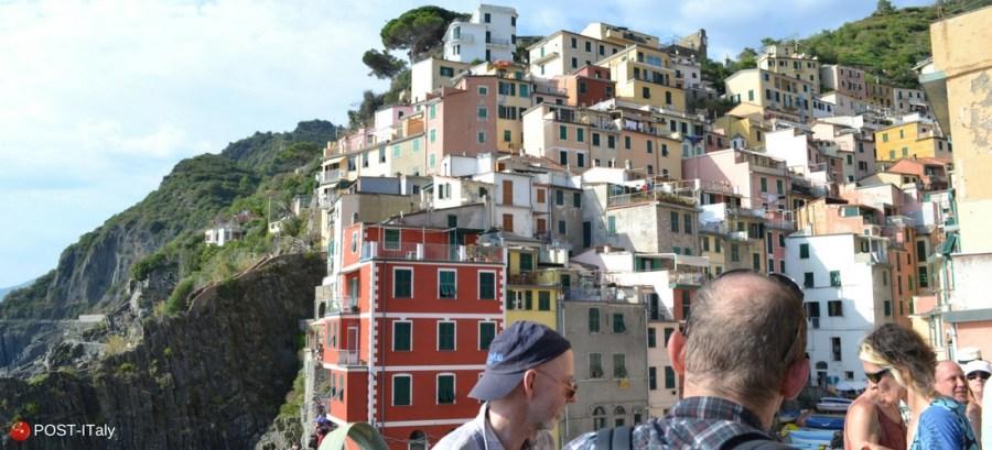Viagem para Cinque Terre, Itália