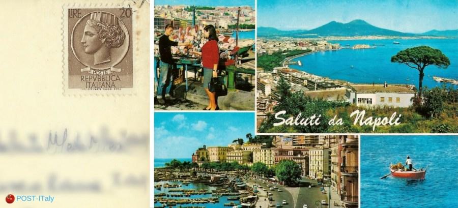 Itália, cartão postal