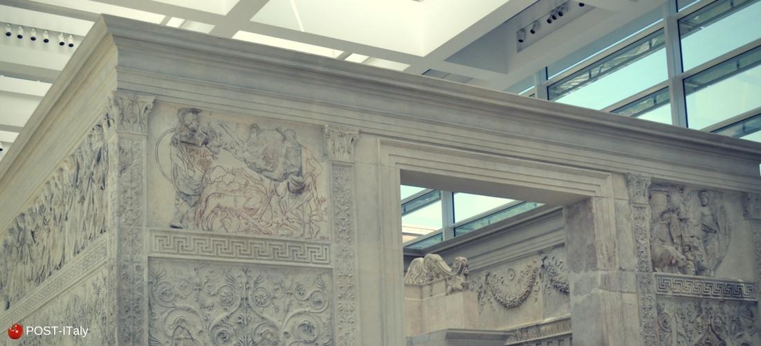 Ara Pacis ou Altar da Paz de Augusto