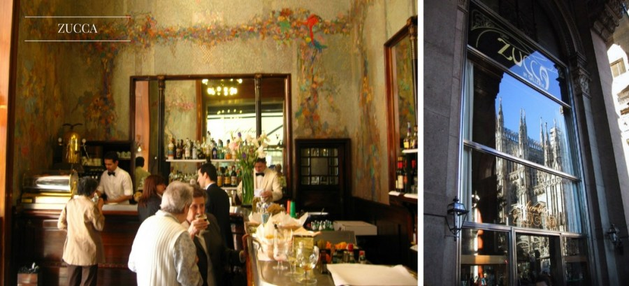 Cafeterias históricas na Itália