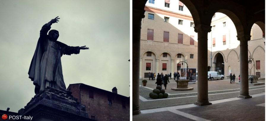 Ferrara, Savonarola, Itália