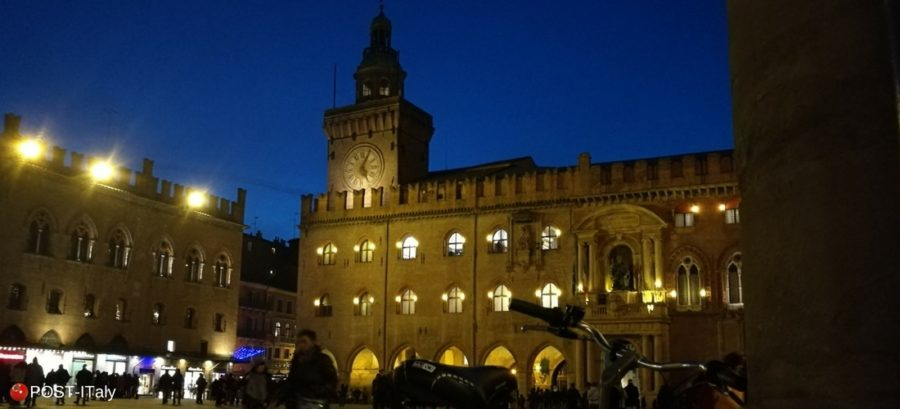 Piazza Maggiore, Bolonha, Itália