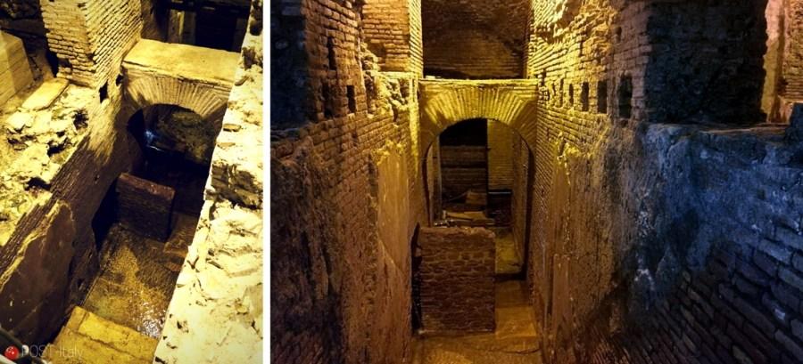 subterrâneo Fontana di Trevi