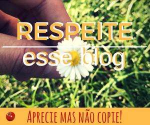 respeite esse blog