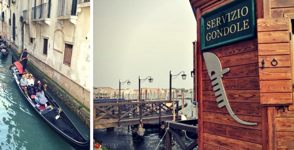 passeio de gôndola em Veneza
