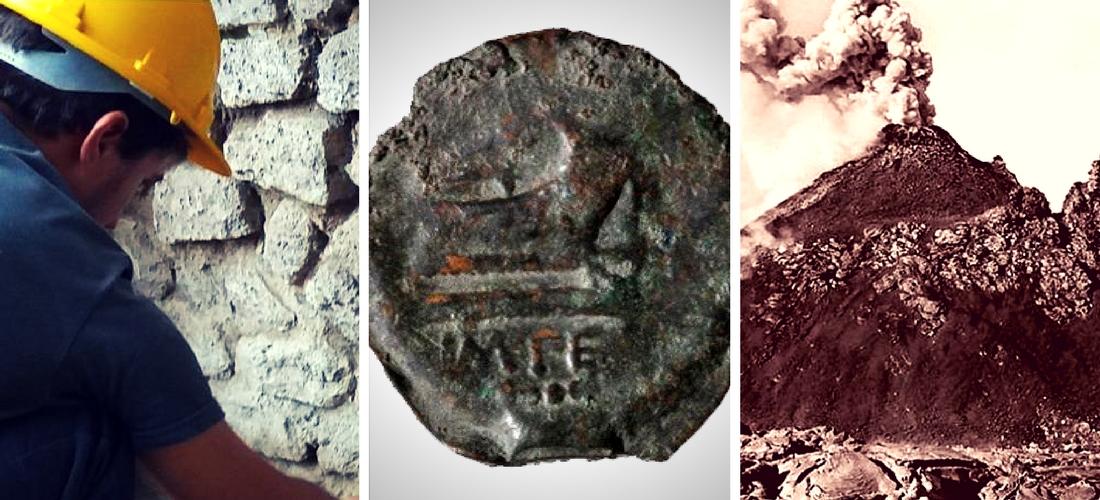 A intrigante moeda que pode mudar a história de Pompeia