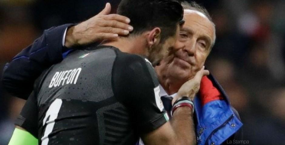 Itália fora da Copa