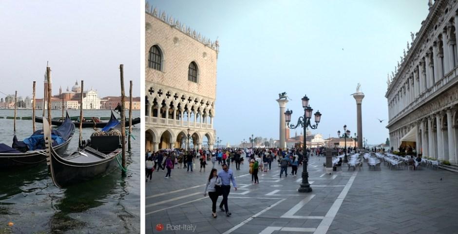 Praça São Marcos em Veneza