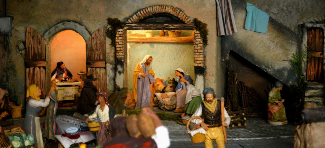 A tradição dos presépios artesanais na Itália