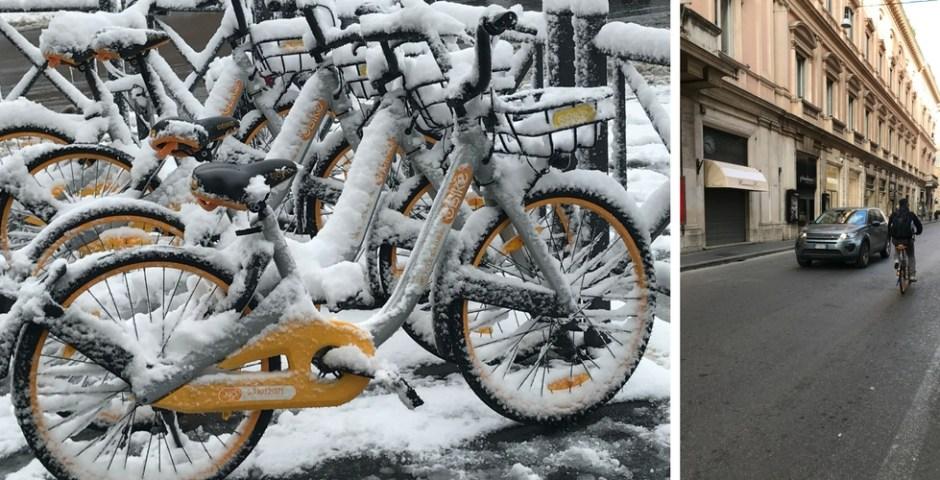Aluguel de bicicletas em Roma