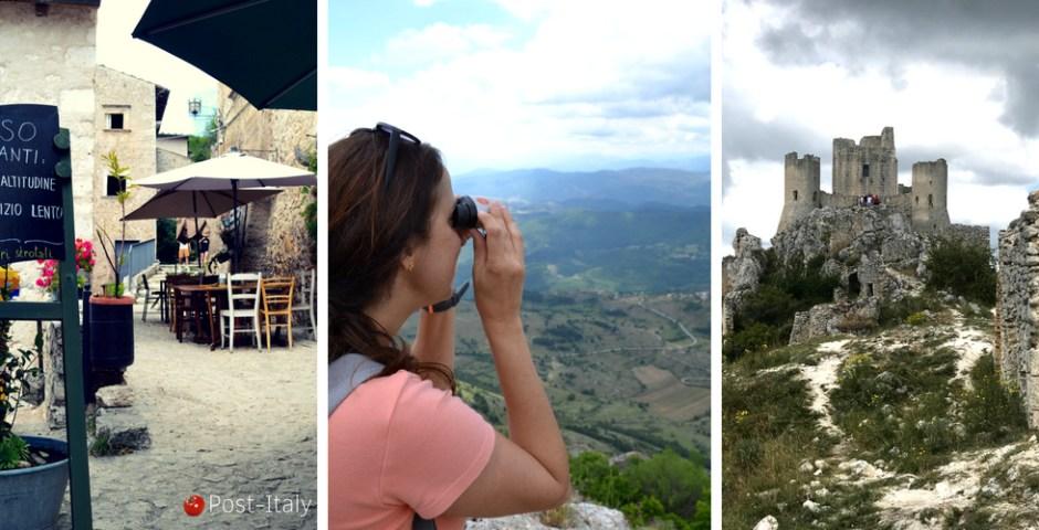 castelo de Rocca Calascio em Abruzzo, Itália