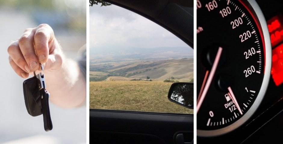 alugar carro na Itália