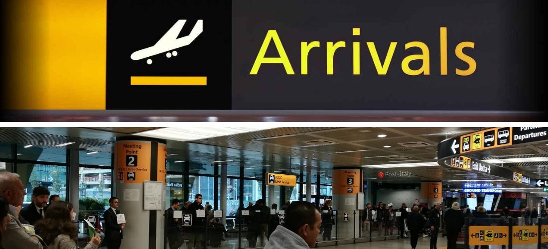 Do aeroporto de Fiumicino até o centro de Roma. Todas as opções