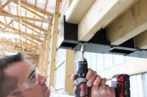 Securing Post Rack shelves