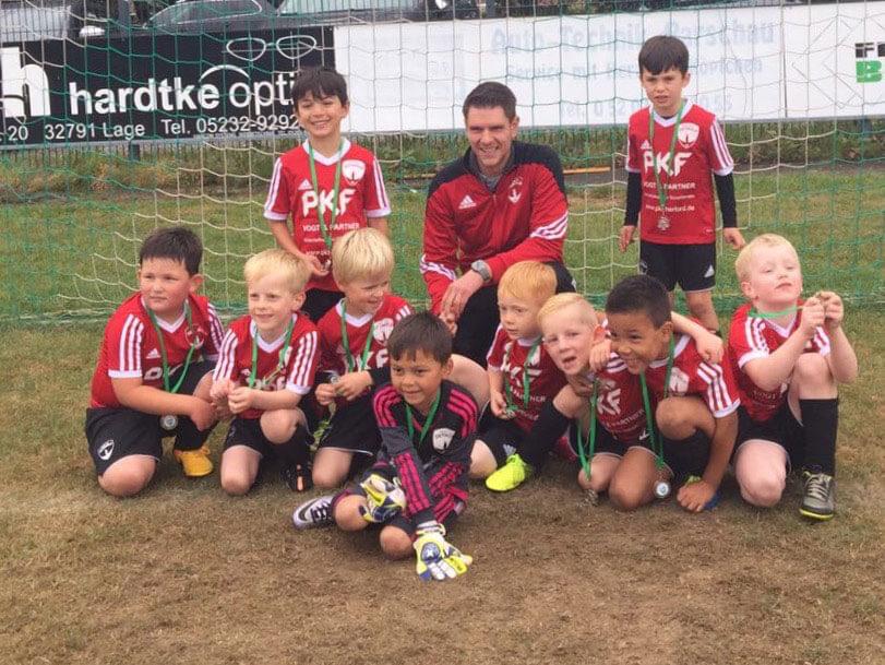 Mannschaftsfoto D2 Junioren - Post TSV Detmold