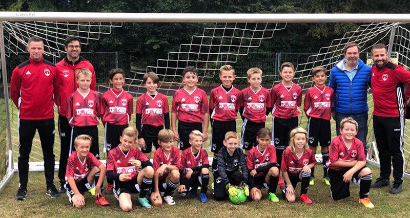 Post TSV E1-Junioren Mannschaftsfoto 2019/2020