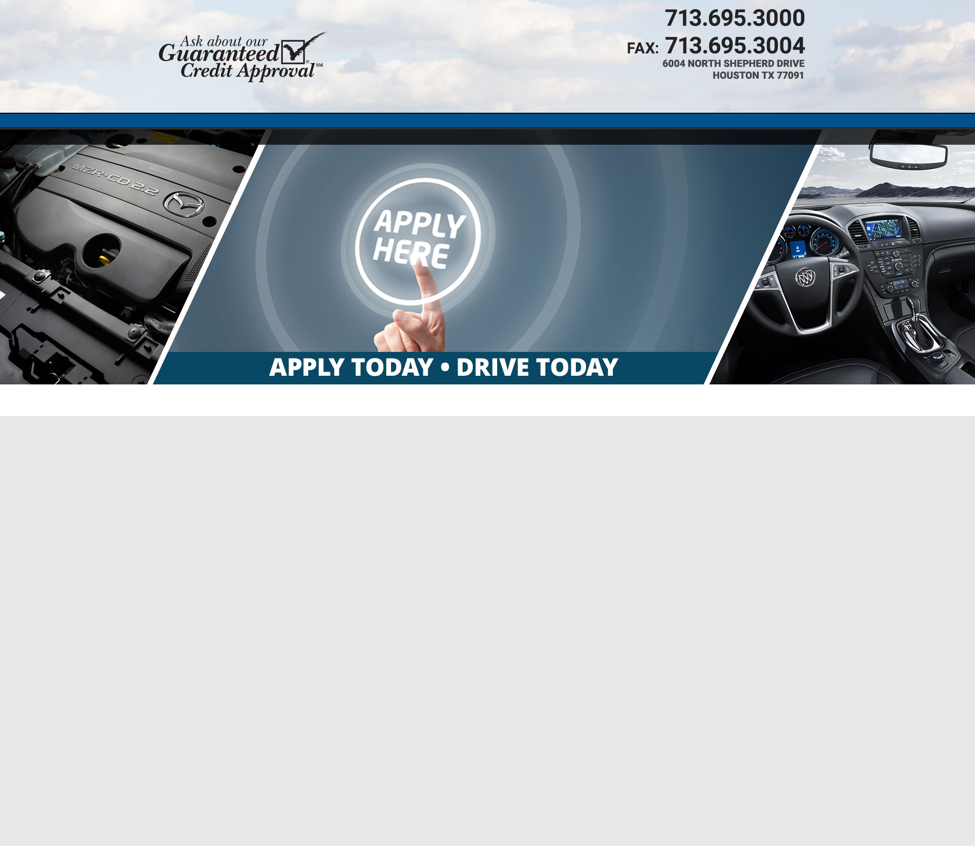 Auto Nations Finance Used Cars Houston TX Dealer