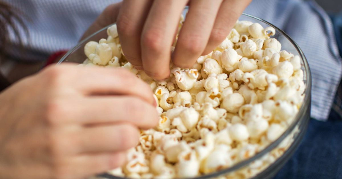 is popcorn healthy nutrition types