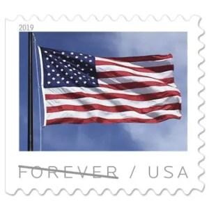 US postal stamp 2019
