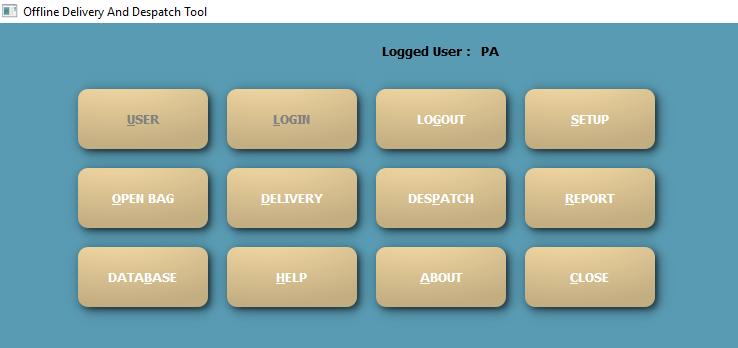 Offline Delivery Slip and Despatch List generation Tool v2.0.0