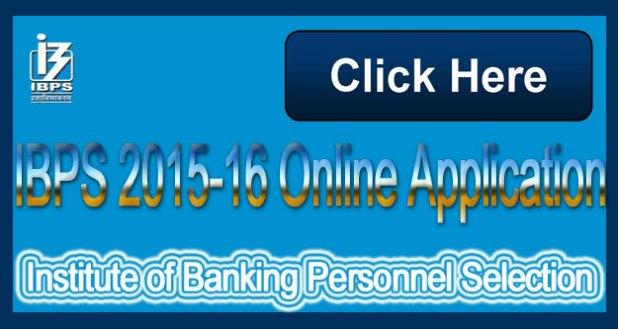 IBPS 2015-16 Online Application