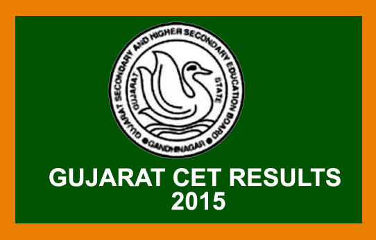 Gujarat CET results 2015,