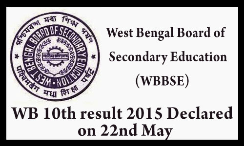 West Bengal 10th results 2015