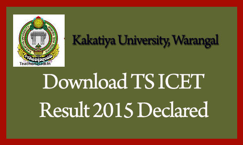 TS ICET Seat Allotment Results 2015