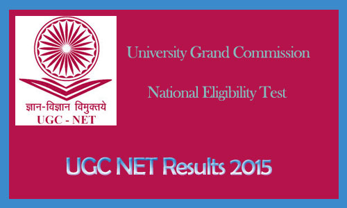 CBSE UGC NET result june 2015