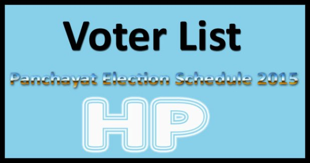 HP gram panchayat election date 2015