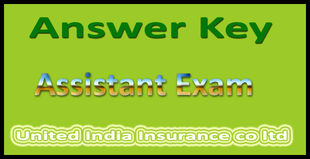 UIIC Assistant Answer key 2015