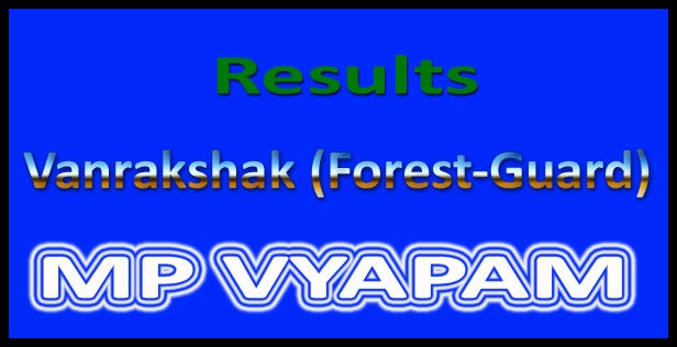 MP Forest Guard Result 2017