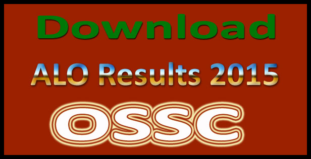 OSSC ALO Results 2015