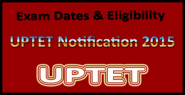 UPTET application form 2015