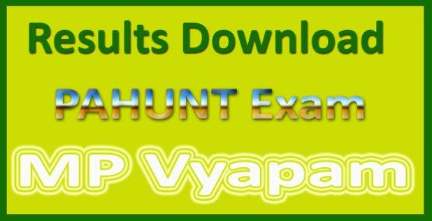 Vyapam Pahunt result 2016