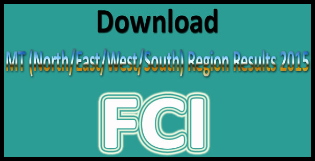 FCI MT results 2015