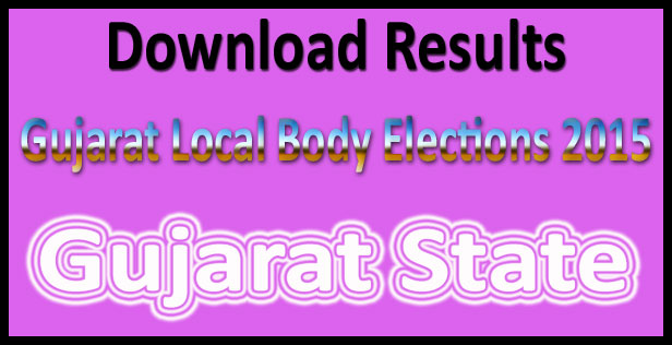 Gujarat local body elections results 2015
