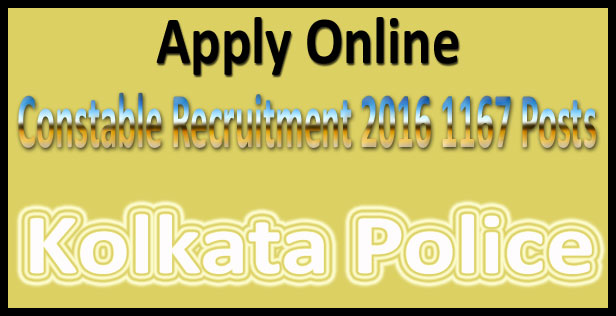 Kolkata police recruitment 2015