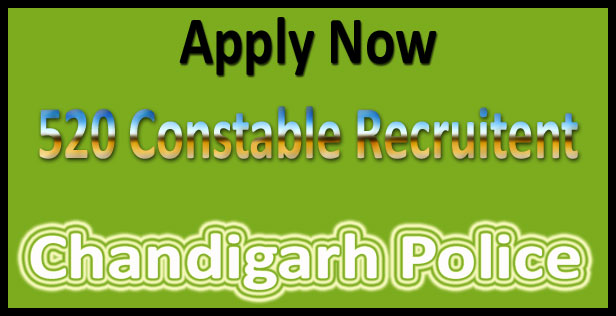 Chandigarh police constable recruitment 2017