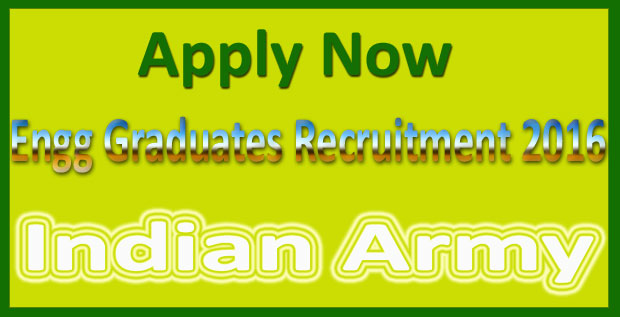 Indian army engineer recruitment 2016
