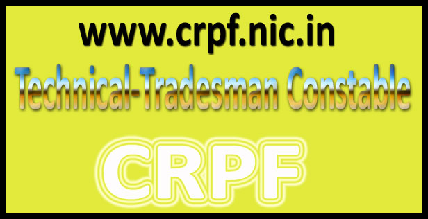 CRPF constable recruitment 2016