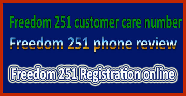 Freedom 251 registration online