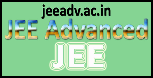 JEE advanced application form 2016